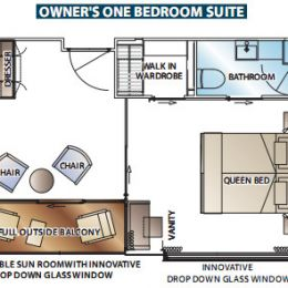 Owner's One Bedroom Suite