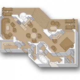 Pinnacle Suites floorplan