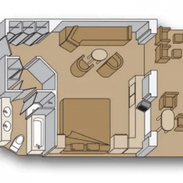 Neptune Suite floorplan