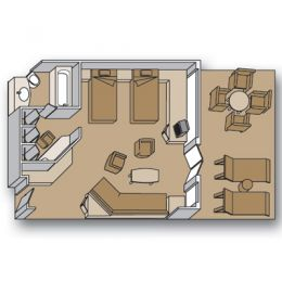 Neptune Suite Layout