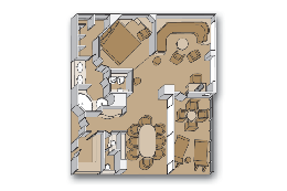 Pinnacle Suite Layout