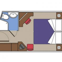 Oceanview Cabin Floorplan