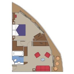 Balcony Suite floorplan