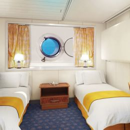 Mid-Ship Oceanview Porthole Window