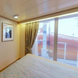 Outside Stateroom with Obstructed View