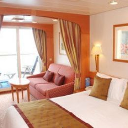 Balcony Stateroom with Shower only
