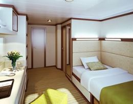 Outside Single Stateroom