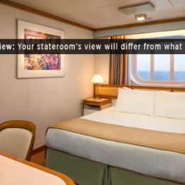 Oceanview Stateroom (Obstructed )