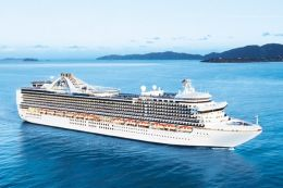 Princess Cruises Crown Princess australia family cruises
