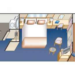 Balcony Stateroom Layout