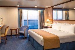 Wheelchair-Accessible Cabin Balcony Stateroom