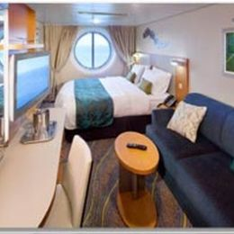 Partially Obstructed Ocean View Stateroom
