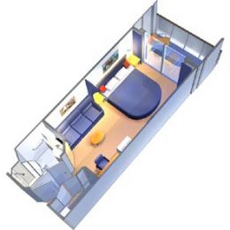 Balcony Stateroom Accessible