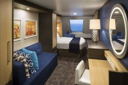 Spacious Ocean View Stateroom
