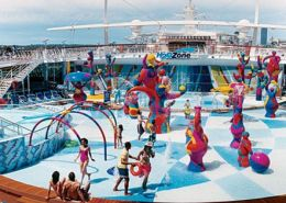 Royal Caribbean Adventure Of The Seas new zealand family cruises