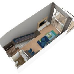 Crown Loft Suite with Balcony