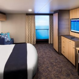Large Interior Stateroom with Virtual Balcony