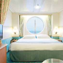 Spacious Oceanview Stateroom