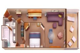 Penthouse Suite Layout