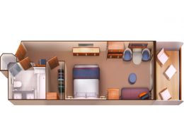 Veranda Suite Layout