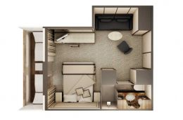 Deluxe Veranda Suite Layout