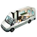 2 Berth Deluxe new zealand camper van rental