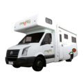 6 Berth Big Six australia camper van hire