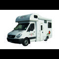 4 Berth Double Up new zealand camper van rental