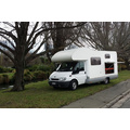 6 Berth Deluxe new zealand camper van rental