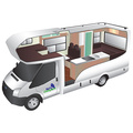 Trail Explorer Deluxe 6 Berth new zealand camper van rental