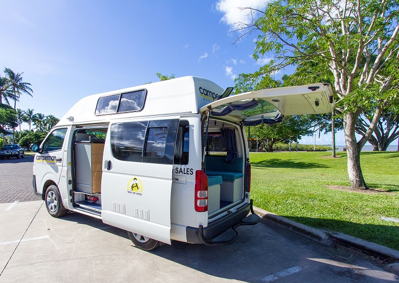 Camperman Australia AU Jade 3 HiTop (All Inclusive Rate) $500 EXCESS
