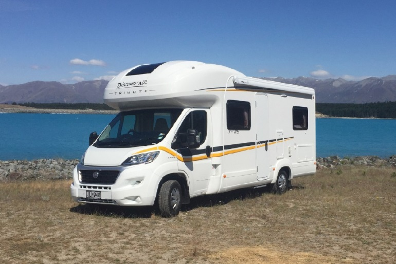 Discover NZ Motorhomes 4/5 berth Tribute