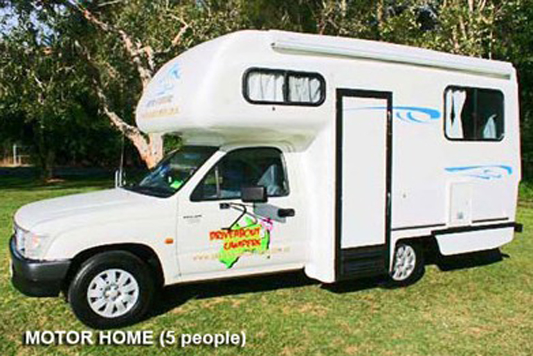 Driveabout Campers 5 Seater Compact Motorhome