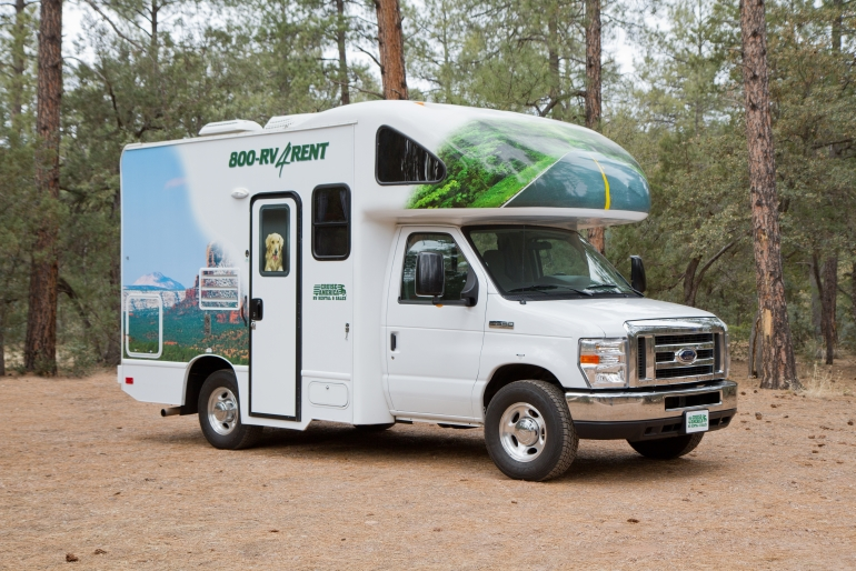 C19 Compact Motorhome Rv Rental Usa