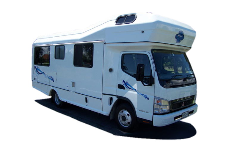 Koru 6 Berth Camper Van Hire New Zealand