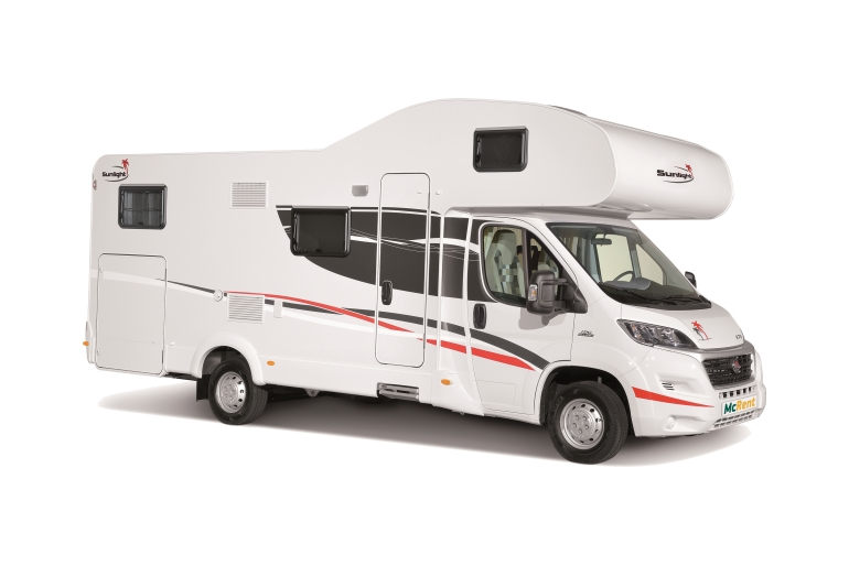 McRent UK Family Luxury Sunlight A70 or similar