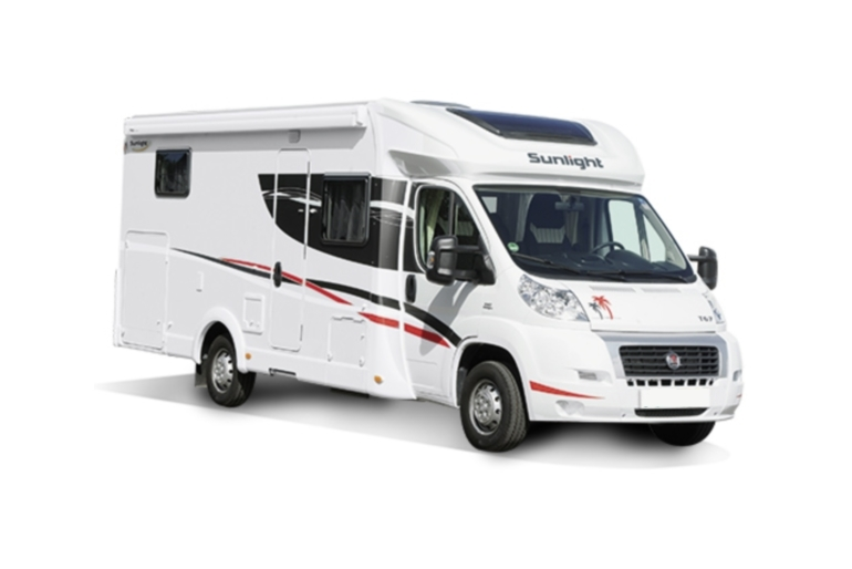 Pure Motorhomes Italy Family Standard Sunlight T67 or similar