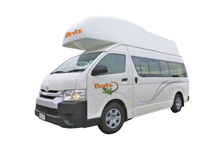 Britz Campervan Rentals NZ (Domestic) 3 Berth - Hitop