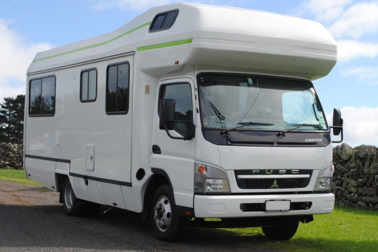 Deluxe 7 Berth Mitsubishi Canter Motorhome Rental Worldwide