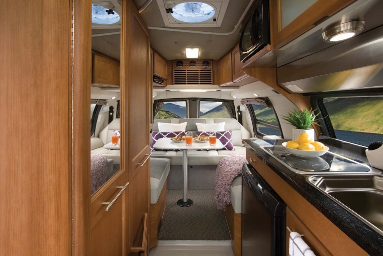 Van Conversion Rv Rental Canada Click Here For Larger Image