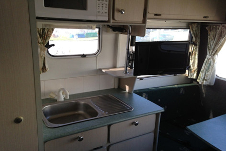Person campervan with toilet and shower quotes