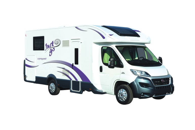 Just Go Motorhomes UK 4 Berth Fixed Rear Double Bed