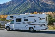 Camper1 Alaska 23ft Class C Freelander Gold motorhome rental usa