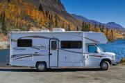 Camper1 Alaska 23ft Class C Freelander Gold motorhome rental alaska
