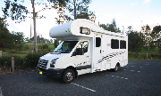 Motorhome 4B Elite campervan rental brisbane