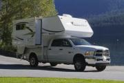 TC-S (Truck Camper with Slideout) rv rental calgary