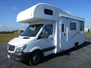 Motorhome 6B Elite campervan hireadelaide