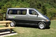 Granvia 2 berth sleeper campervan rental new zealand