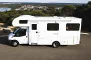 6 Berth Motorhome campervan rental brisbane