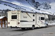 Camper1 Alaska 32ft Class C Freelander Bunk House Gold rv rental usa